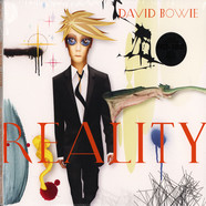 David Bowie - Reality Tri-Fold Cover Audiophile Transculent Gold & Blue Swirl Audiophile Vinyl Edition