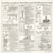 Derek Bailey / Evan Parker / Han Bennink - Topography Of The Lungs