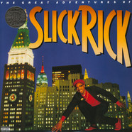 Slick Rick - The Great Adventures Of Slick Rick Translucent Blue Vinyl Edition