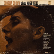 Georgia Brown - Sings Kurt Weill