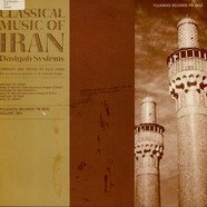 V.A. - Classical Music Of Iran - Dastgah Systems Vol. 2