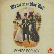 Carsten Erobique Meyer & Jacques Palminger Präsentieren Songs For Joy - Wann Strahlst Du? Black Vinyl Edition