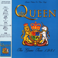 Queen - The Game Tour Clear Vinyl Edition