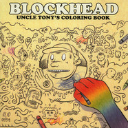 Blockhead - Uncle Tony's Coloring Book Red & Blue Vinyl Edition
