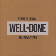 Statik Selektah - Well Done Instrumentals Clear Vinyl Edition