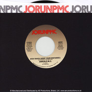 Jorun PMC (Jorun Bombay & Phill Most Chill) - Stay Back (Keep Your Distance) / Sammy Davis