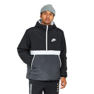 Nike - Synthetic Fill Hooded Half Zip Jacket