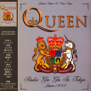 Queen - Radio Ga Ga In Tokyo - Japan 1985 Clear Vinyl Edition