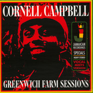 Cornell Campbell - Greenwich Farm Sessions Record Store Day 2019 Edition