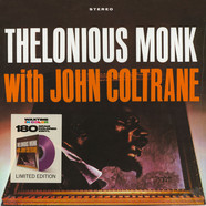 Thelonious Monk - Thelonious Monk With John Coltrane Transparent Purple Vinyl Edition