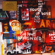 House Of Love - She Paints Words In Red Coloured Vinyl Edition