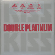 Kiss - Double Platinum Limited Silver Vinyl Edition
