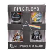 Pink Floyd - Shot Glasses Set Of 4