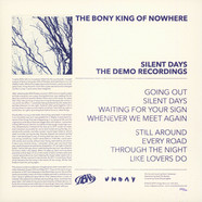 Bony King Of Nowhere, The - Silent Days Black Vinyl Edition