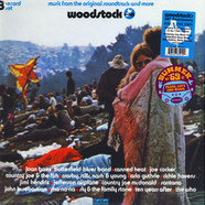 V.A. - Woodstock: Music From The Original Soundtrack And More Blue & Pink Vinyl Edition