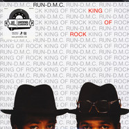 Run-DMC - King Of Rock Translucent Red Vinyl Edition