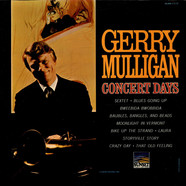 Gerry Mulligan - Concert Days