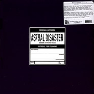 Coil - Astral Disaster Sessions Un/Finished Musics Black Vinyl Edition