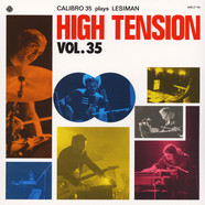 Calibro 35 - High Tension Volume 35 Calibro 35 Plays Lesiman Black Vinyl Edition