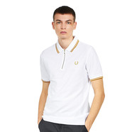 Fred Perry x Miles Kane - Zip Detail Pique Shirt