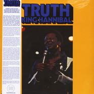King Hannibal - Truth (Featuring Lee Moses) Black Vinyl Edition W/ Obi Strip