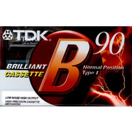 TDK - Brilliant Audio Tape 90 Minuten