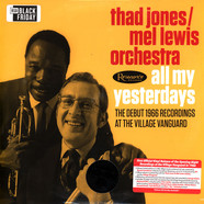 Thad Jones & Mel Lewis Orchestra - All My Yesterdays Black Friday Record Store Day 2019 Edition