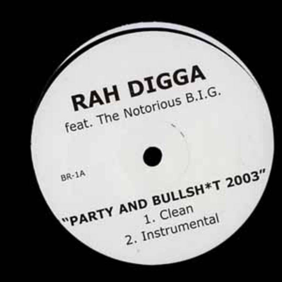 Rah Digga - Party & bullshit 2003 remix feat. Notorious B.I.G.