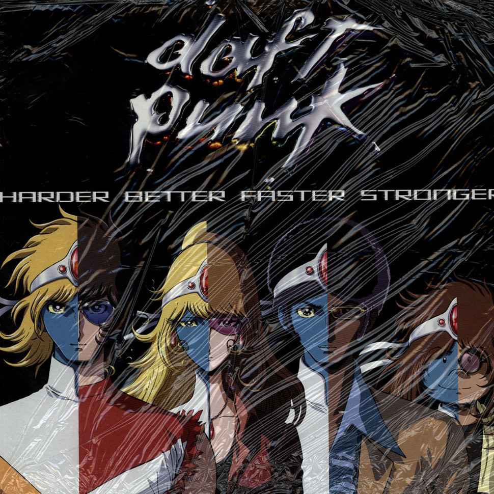 Daft Punk - Harder Better Faster Stronger - Vinyl 12