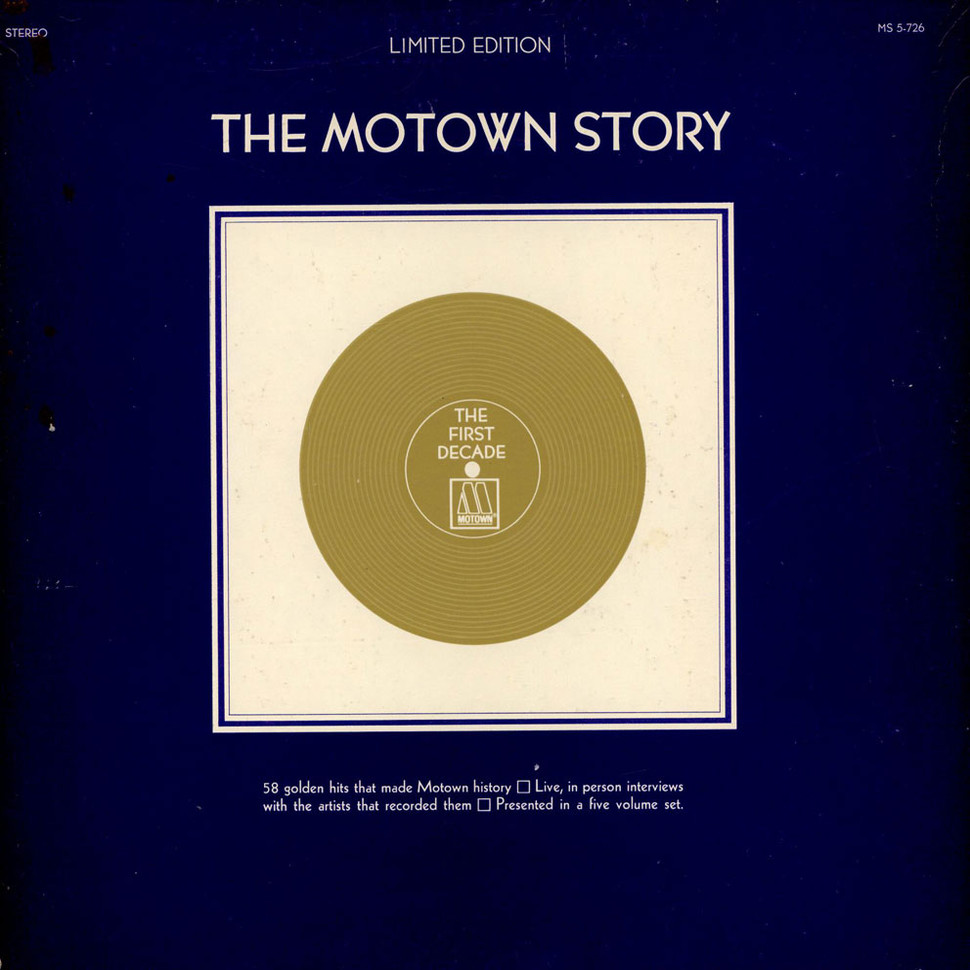 V.A. - The Motown Story - The First Decade