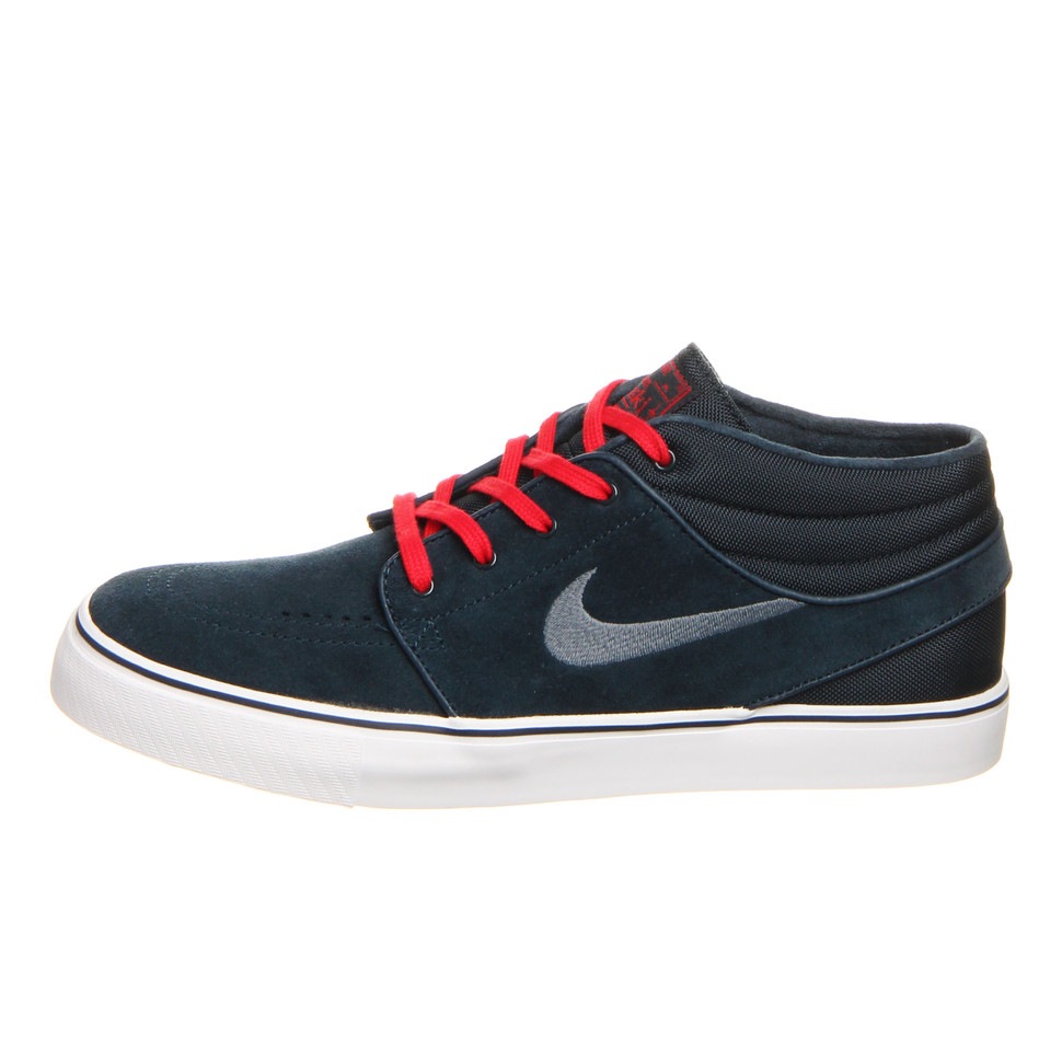 nike sb zoom stefan janoski mid university red