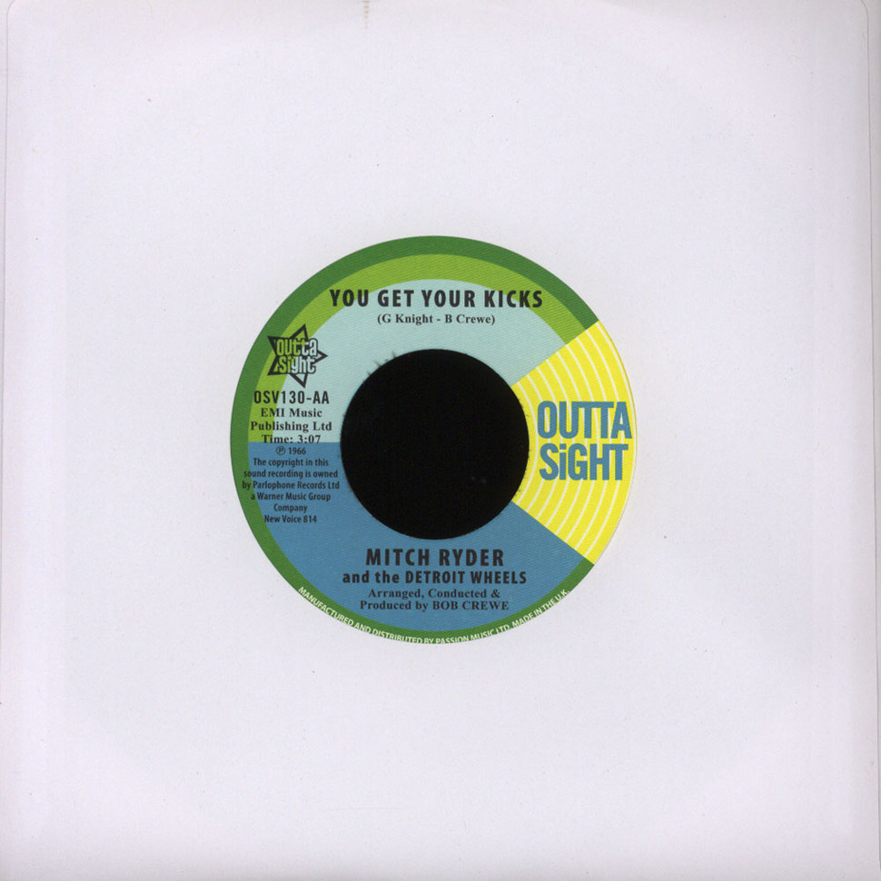 Mitch Ryder And The Detroit Wheels - Breakout / You Get Your Kicks