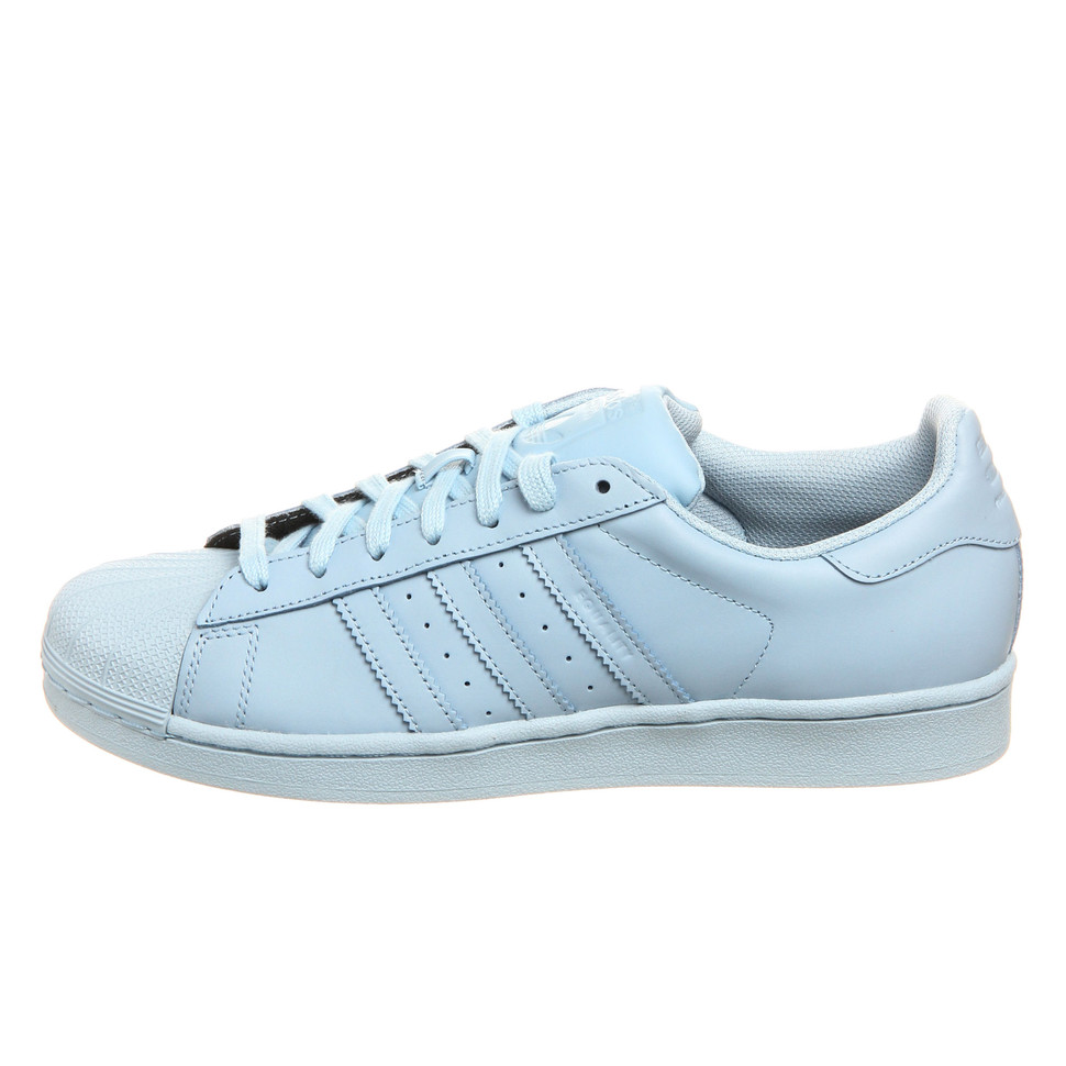 adidas Superstar 1 Pharrell Supercolor Lucky Blue His trainers