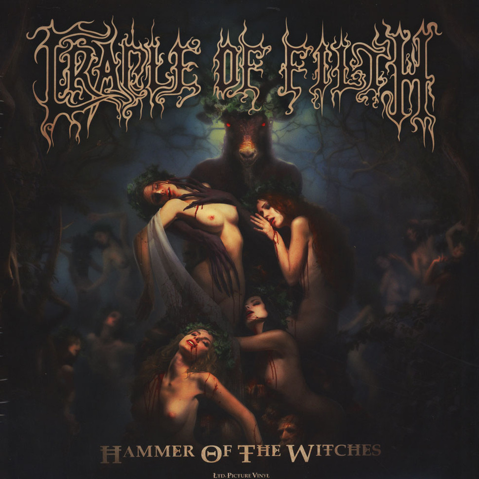 Cradle Of Filth - Hammer Of The Witches Picture Disc Edition