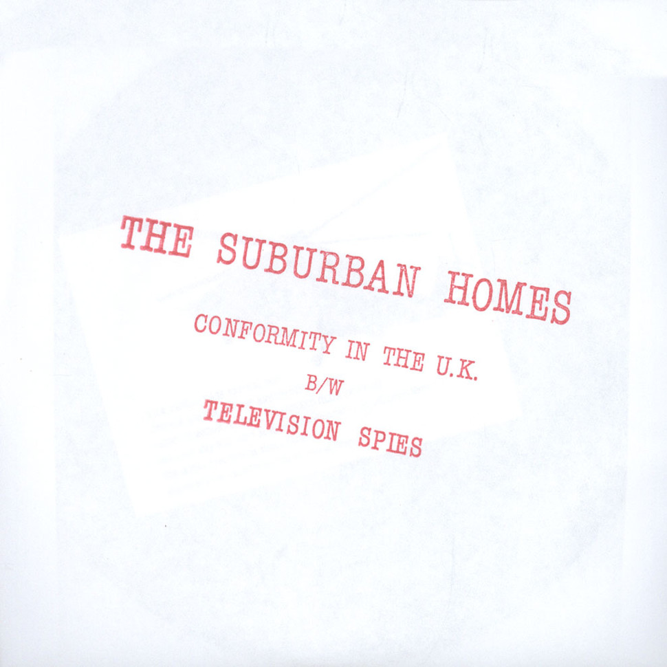 Suburban Homes - Conformity In The UK / Television Spies