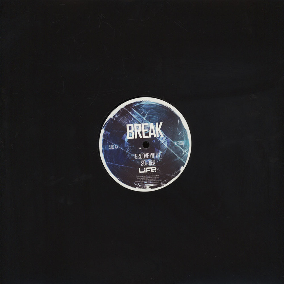 Break - Groove With It / Soldier