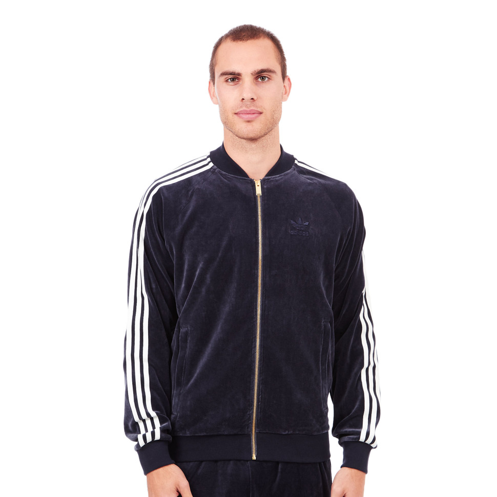 adidas Originals Velour SST Tracktop Legend Ink