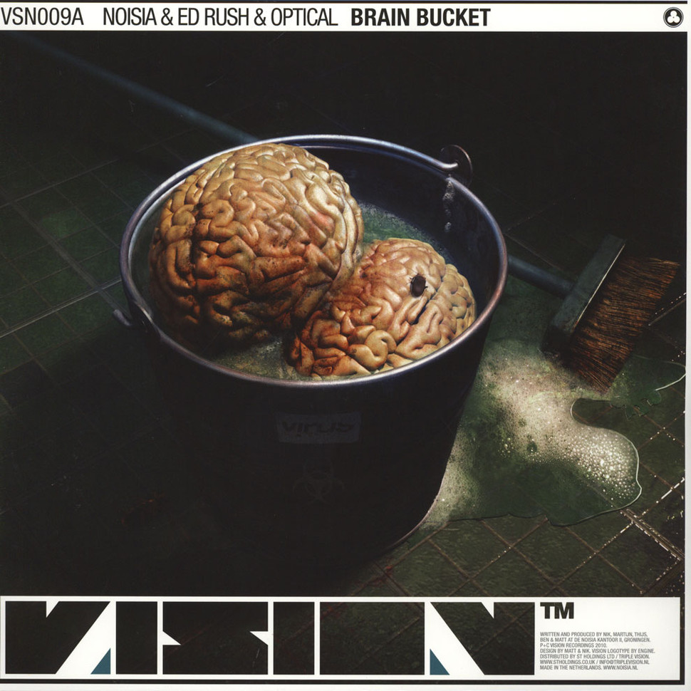 Noisia & Ed Rush & Optical & Spor - Brain Bucket / Falling Through