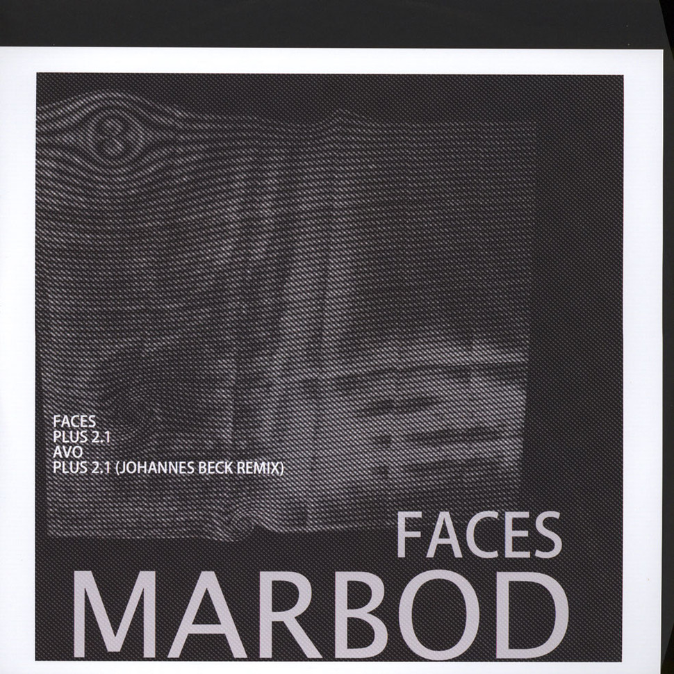 Marbod - Faces