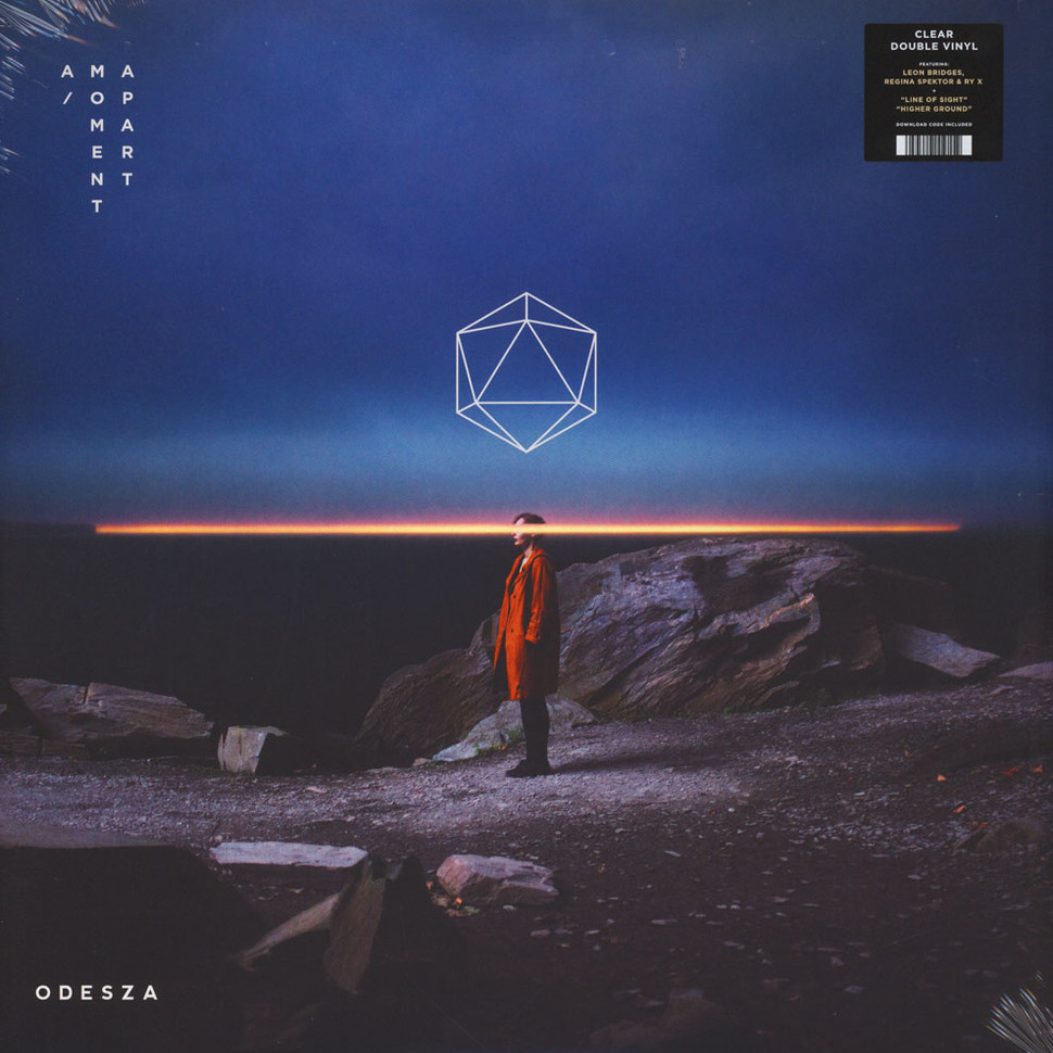 Odesza - A Moment Apart Clear Vinyl Edition