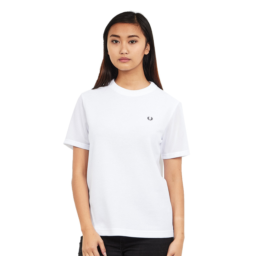Fred Perry - Mesh Sleeve T-Shirt