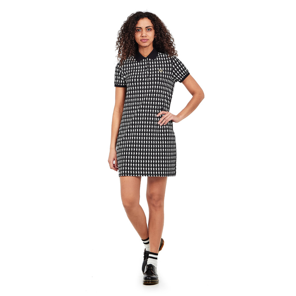 Fred Perry x mintdesigns - Mint Doll Print Pique Dress