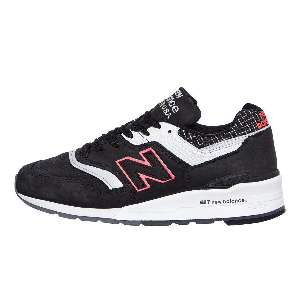 New-Balance-m997-CR-made-in-USA-Black-White-Sneaker-Chaussures-De-Sport
