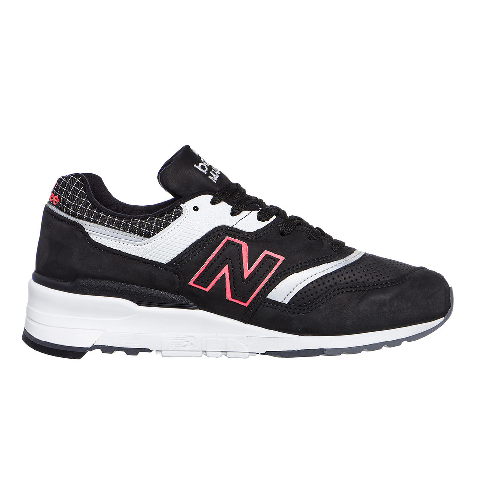 New-Balance-m997-CR-made-in-USA-Black-White-Sneaker-Chaussures-De-Sport miniature 3