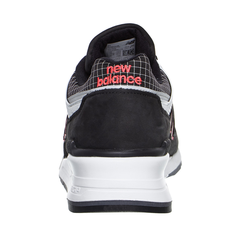 New-Balance-m997-CR-made-in-USA-Black-White-Sneaker-Chaussures-De-Sport miniature 6