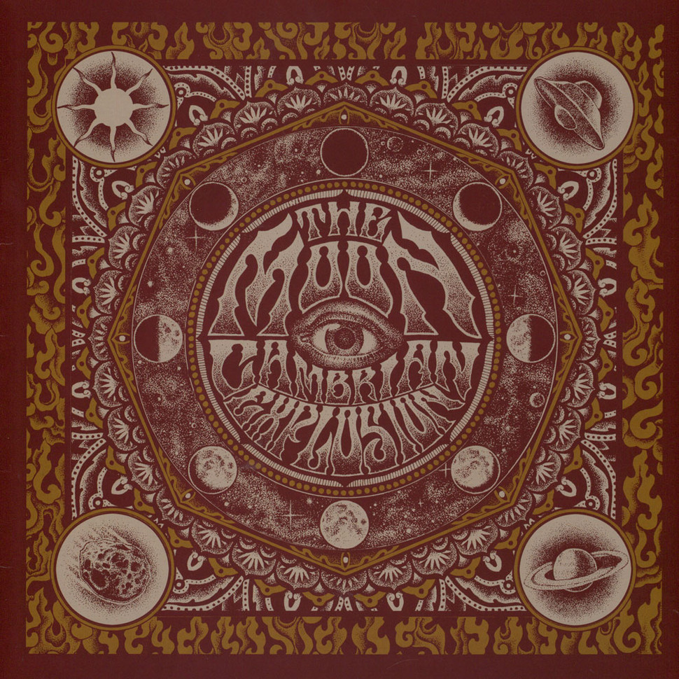 Cambrian Explosion - The Moon Clear/Black Colored Vinyl Edition