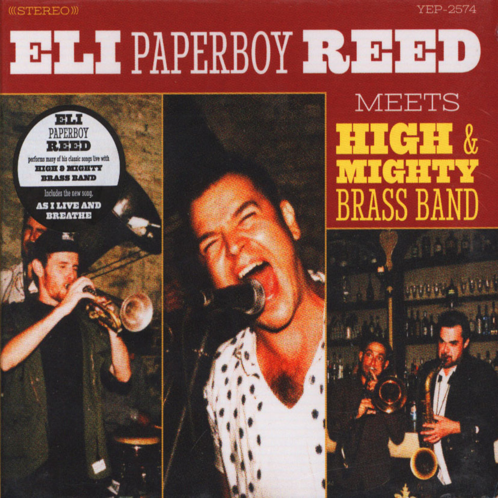Eli Paperboy Reed - Eli Paperboy Reed Meets High & Mighty Brass Band