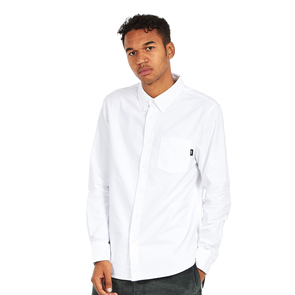 Stüssy - Frank Oxford LS Shirt
