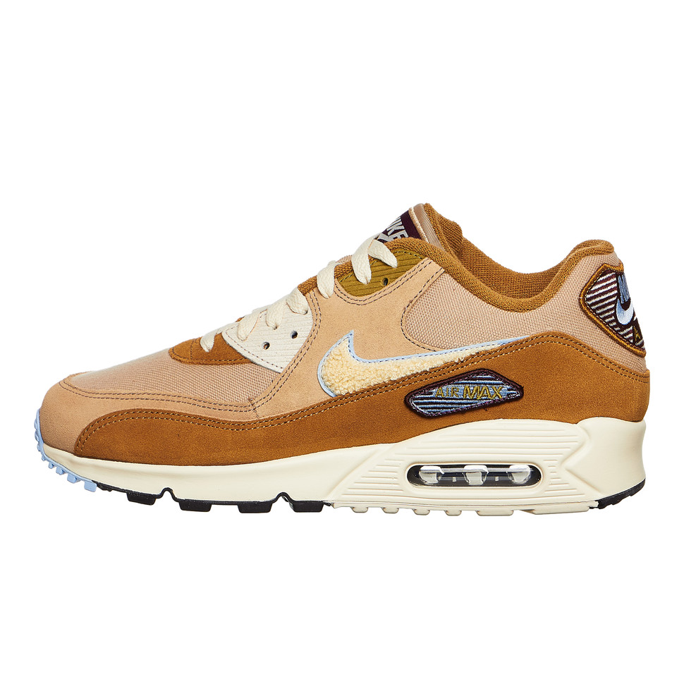 Nike Air Max 90 Premium SE Muted BronzeLight Cream Royal Tint 858954 200