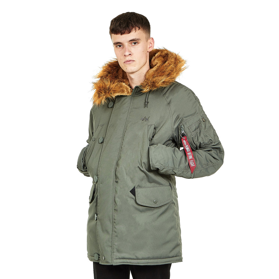 comerciante Fragua Museo  Alpha Industries - Explorer (Vintage Green) | HHV